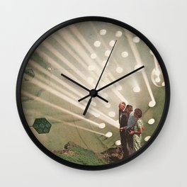 the light pours out of me Wall Clock