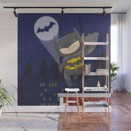Bat man Wall Mural