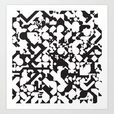 Jazz Noir Art Print