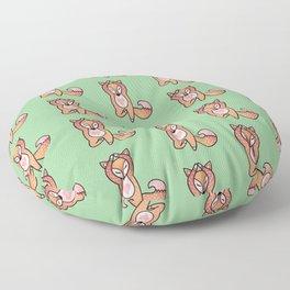Cute And Fat Fox Floor Pillow