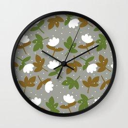 Cotton & Snow Wall Clock