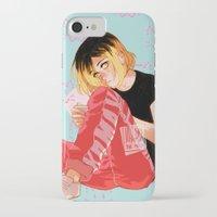 johannathemad iPhone & iPod Cases featuring Neko by JohannaTheMad