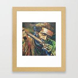 Irian People Framed Art Print