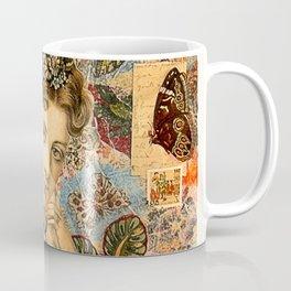Old Fasiond Girl Coffee Mug