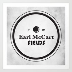 Earl McCart Fields Art Print