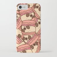 macaron iPhone & iPod Cases featuring Puglie Macaron by Puglie Pug