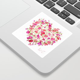 Heart themed- Sweet Pea Heart Sticker