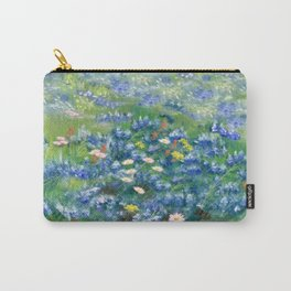 Spring Flowers in Texas Carry-All Pouch