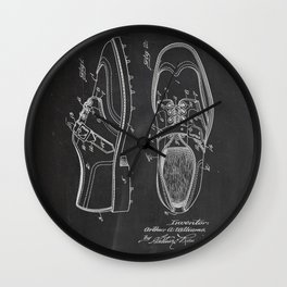 Shoes Patent Wall Clock