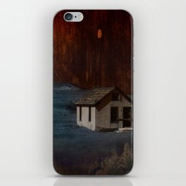 The Surface of Solitude-Hardship iPhone Skin