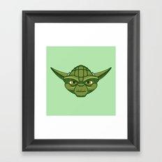 #47 Yoda Framed Art Print