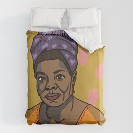 Maya Angelou Duvet Cover