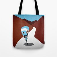 cycling Tote Bags featuring Cycling by Osvaldo Casanova