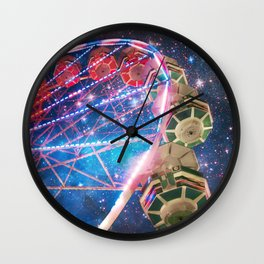 The Other Side of the Galaxy Wall Clock