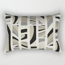 Urban art deco 01 Rectangular Pillow