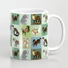 Best Nine :  Mustelids of Spain Coffee Mug