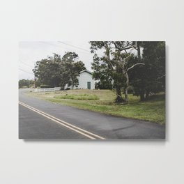 House on the Green - Hilo, Hawaii Metal Print