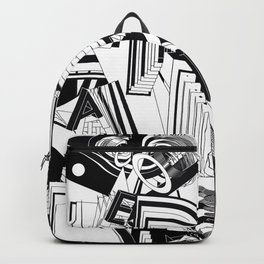 History of Art in Black and White. Conceptualism Backpack