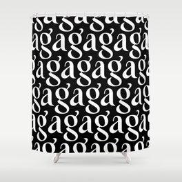 Gagaga Shower Curtain