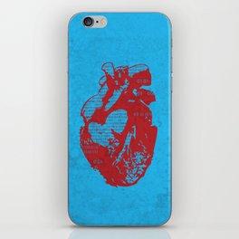 Binary heart iPhone Skin