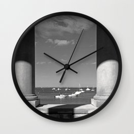 View from Plymouth Rock Wall Clock