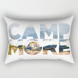 Camp More Rectangular Pillow