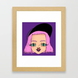 Boogers Framed Art Print