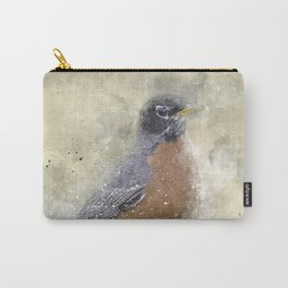 Rusty Robin Carry-All Pouch