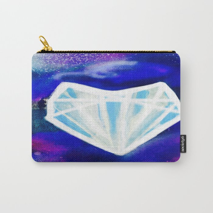 Hearts or Diamonds, I'll Take Diamonds Carry-All Pouch
