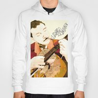 django Hoodies featuring Django Reinhardt by Daniella Birtley