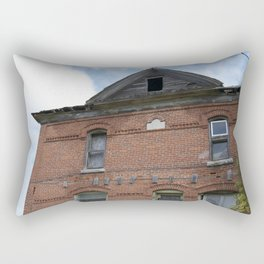 Red Brick Dreams Rectangular Pillow