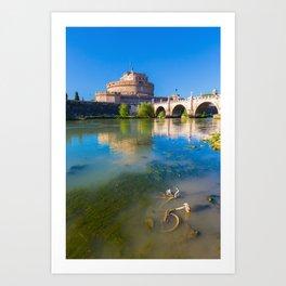 Castel Sant'Angelo - Rome Art Print