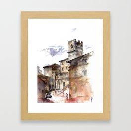 Cortona, Italy Framed Art Print
