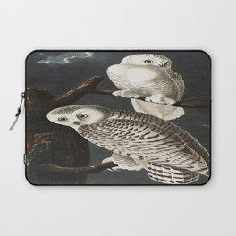 Snow Owl Laptop Sleeve