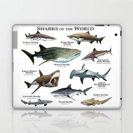 Sharks of the World Laptop & iPad Skin