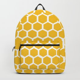 Honey-coloured Honeycombs Backpack