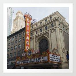 Chicago Theatre Art Print