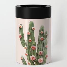 CACTUS AND ROSES Can Cooler