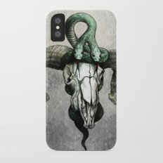 Hell followed with him iPhone X Slim Case