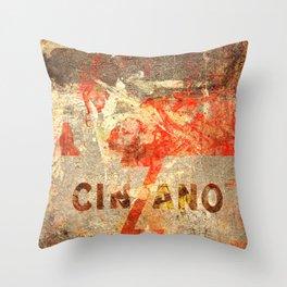 Cinzano - Vintage Vermouth Throw Pillow