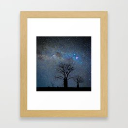 Starry Kimberley Night Framed Art Print