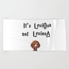 Wingardium Leviosa Beach Towel