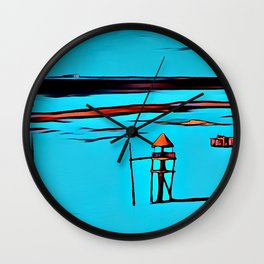 Baywatch Tower Wall Clock
