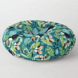 Toucan Tropics Floor Pillow