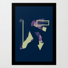 Uncomfortably Lucid Art Print