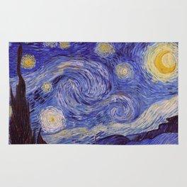 Vincent Van Gogh Starry Night Rug