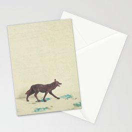 Wandering Wolf Stationery Cards