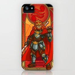 Ganondorf Villain of Power iPhone Case
