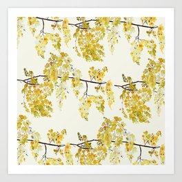 Manjal - Yellow Art Print