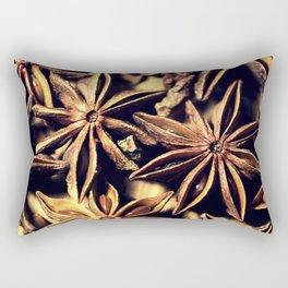 Star Anise Texture Rectangular Pillow